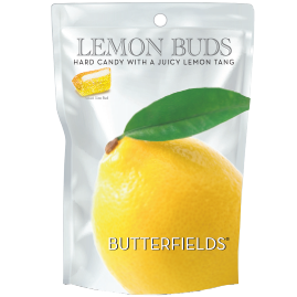 Butterfields Old Fashioned Candies by Butterfields Candy - Lemon Buds hard candy with a juicy lemon tang