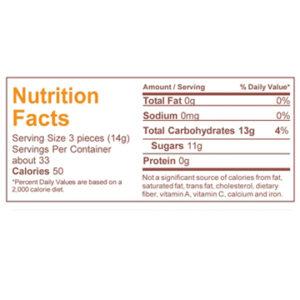 Nutrition - Key Lime hard candy