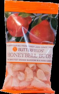 Honeybell orange hard candy