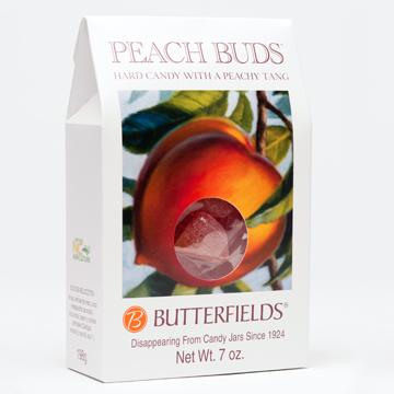 Peach Hard Candy, 7 Ounce