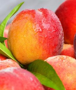 Peach hard candy